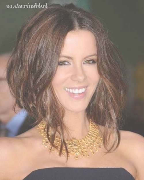 199 Best Celebrity Bobs Images On Pinterest | Hairstyle, Fashion Within Kate Beckinsale Bob Haircuts (View 3 of 15)
