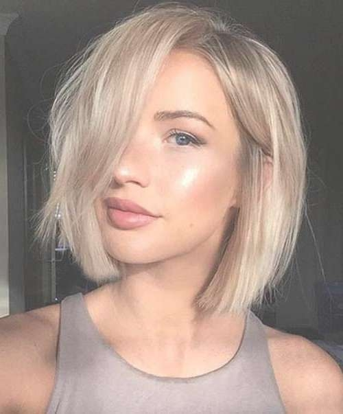 20 Amazing Bob Hairstyles That Look Great On Everyone – Bob Pertaining To Blonde Short Bob Haircuts (View 8 of 15)