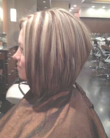 20 Angled Bob Haircuts With High Low Bob Hairstyles (View 15 of 15)