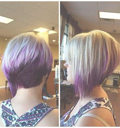 20 Best Angled Bob Hairstyles | Short Hairstyles 2016 – 2017 For Hair Color For Bob Haircuts (View 7 of 15)