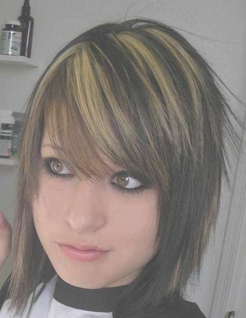 20 Best Dark Bob Hairstyles | Short Hairstyles 2016 – 2017 | Most With Regard To Emo Bob Haircuts (View 5 of 15)