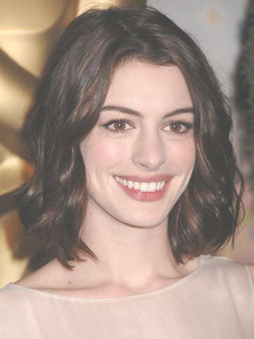 20 Best Dark Bob Hairstyles | Short Hairstyles 2016 – 2017 | Most Within Anne Hathaway Bob Haircuts (View 12 of 15)