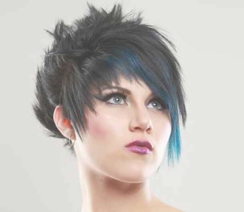 20 Best Punky Short Haircuts | Short Hairstyles 2016 – 2017 | Most Inside Punk Bob Haircuts (View 12 of 15)
