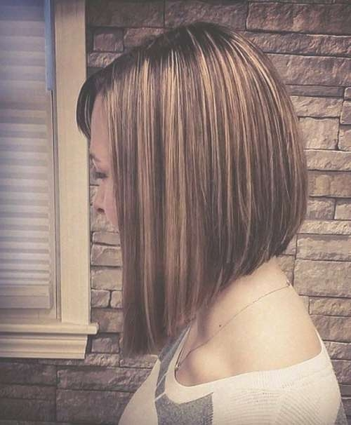 20 Classy Aline Bob Hairstyles In High Low Bob Hairstyles (View 3 of 15)