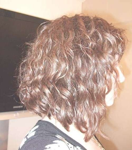 20 Good Haircuts For Medium Curly Hair | Hairstyles & Haircuts With Inverted Bob Haircuts For Curly Hair (View 2 of 15)