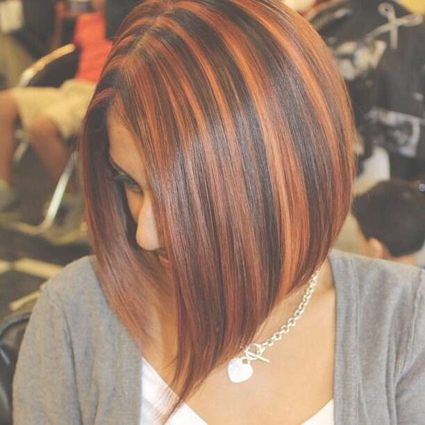 20 Hair With Blonde Highlights Hairstyles: You Must See! – Popular Within Bob Haircuts With Red Highlights (View 11 of 15)