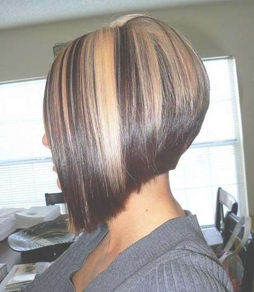 20 Highlighted Bob Hairstyles | Bob Hairstyles 2017 – Short Within Bob Hairstyles With Blonde Highlights (View 4 of 15)