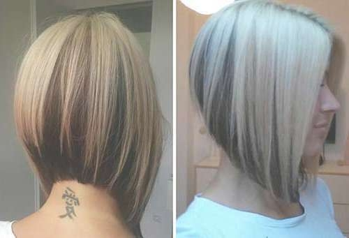 Photo Gallery Of Back View Of Bob Haircuts Showing 2 Of 15 Photos