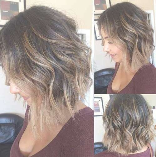 20 Layered Haircuts Back View | Hairstyles & Haircuts 2016 – 2017 With Regard To Front And Back Views Of Bob Hairstyles (View 13 of 15)