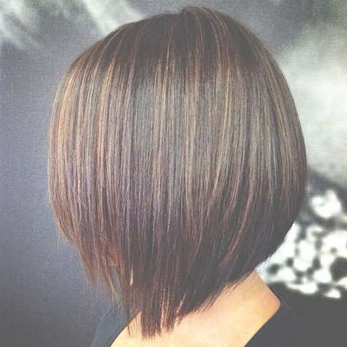 20 New Brown Bob Hairstyles | Short Hairstyles 2016 – 2017 | Most Intended For Bob Hairstyles With Highlights (View 2 of 15)