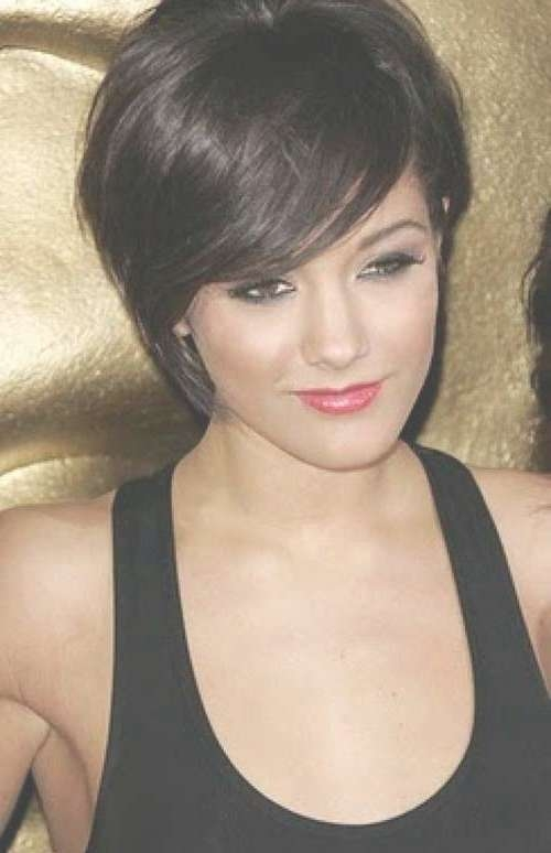 20 Nice Dark Bob Hairstyles | Short Hairstyles & Haircuts 2017 With Regard To Cute Bob Hairstyles With Bangs (View 15 of 15)