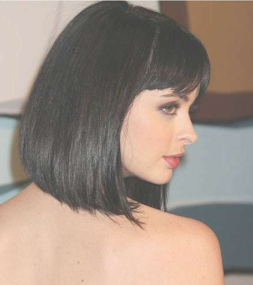 View Gallery of Dark Hair Bob Haircuts (Showing 6 of 15 Photos)