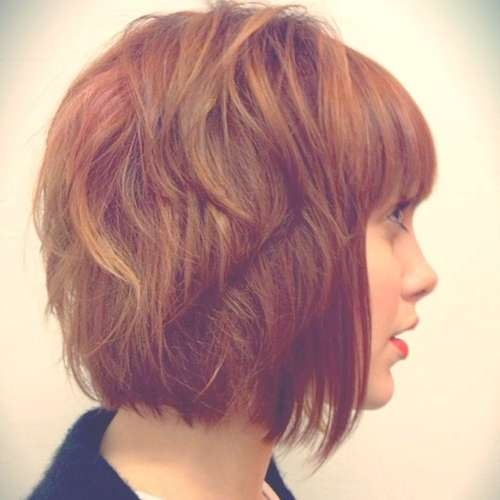 20 Short Bob Hairstyles | Short Hairstyles 2016 – 2017 | Most With Regard To Short Bob Hairstyles For Red Hair (View 14 of 15)