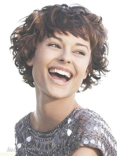 20 + Short & Curly Bob Haircut Styles For Girls & Women 2014 For Short Curly Bob Haircuts With Bangs (View 3 of 15)
