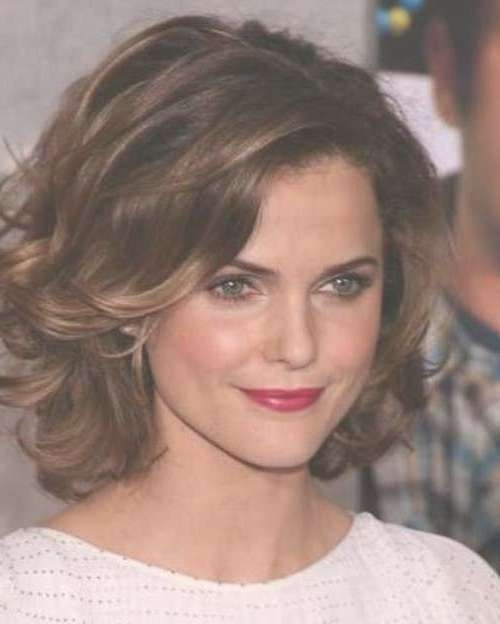 20 Short Haircuts For Thick Wavy Hair | Short Hairstyles Intended For Layered Bob Haircuts For Thick Wavy Hair (View 2 of 15)