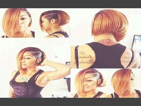20 Showiest Bob Haircuts For Black African American Women – Youtube Throughout Bob Haircuts African American Women (View 3 of 15)