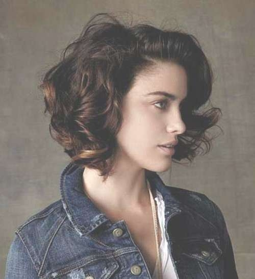 20 Super Curly Short Bob Hairstyles | Bob Hairstyles 2017 – Short For Curly Short Bob Haircuts (View 15 of 15)