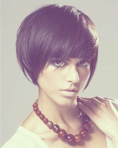 2013 Trendy Short Haircuts For Women | Short Hairstyles 2016 With Short Funky Bob Haircuts (View 8 of 15)