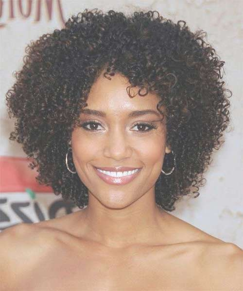 2016 Trendy Bob Hairstyles For Black Women | Haircuts, Hairstyles Within Natural Curly Bob Hairstyles (View 15 of 15)