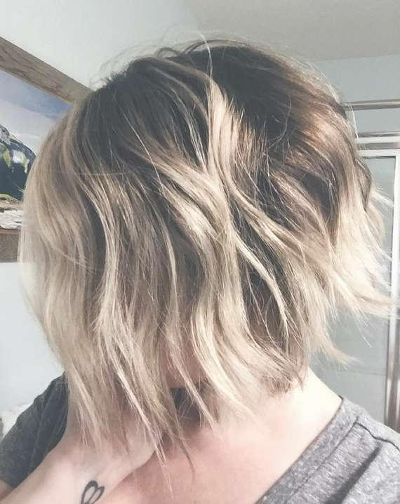 21 Cute Layered Bob Hairstyles – Popular Haircuts Within Blonde Highlights For Bob Haircuts (View 11 of 15)