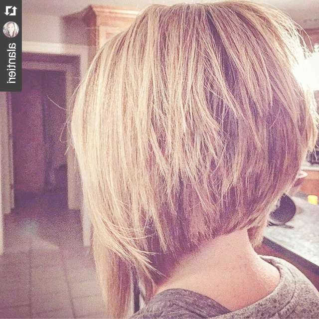 21 Stacked Bob Hairstyles You'll Want To Copy Now | Styles Weekly Pertaining To High Low Bob Hairstyles (View 13 of 15)