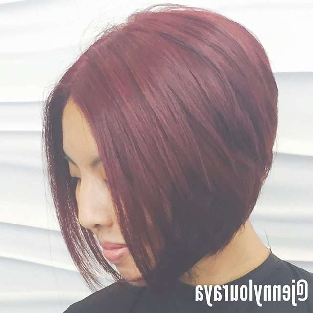 22 Cute & Classy Inverted Bob Hairstyles – Pretty Designs With Regard To Bob Hairstyles And Colors (View 13 of 15)