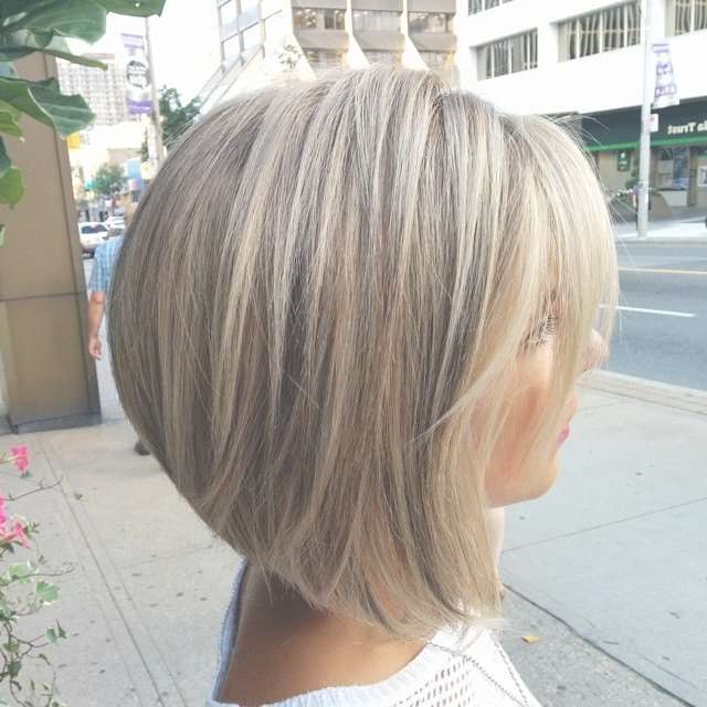 Photos of Medium Length Bob Haircuts For Thick Hair (Showing 9 of 15 ...