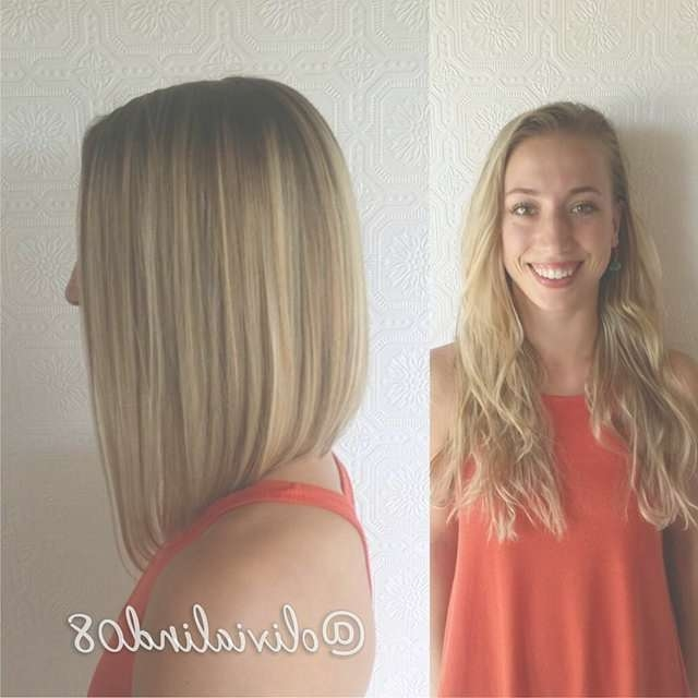22 Most Popular A Line Bob Hairstyles – Pretty Designs With Regard To Medium Long Bob Haircuts (View 5 of 15)