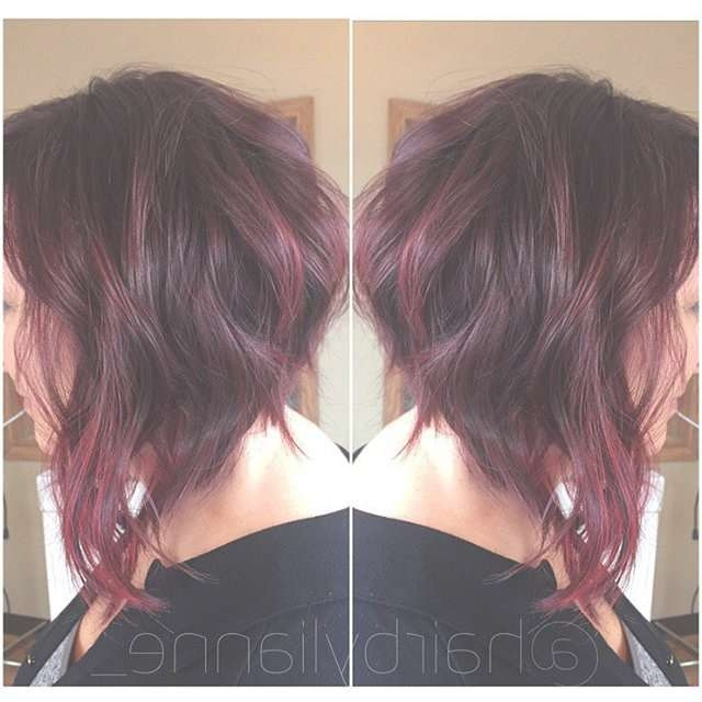 22 Tousled Bob Hairstyles – Popular Haircuts With Bob Haircuts With Red Highlights (View 4 of 15)