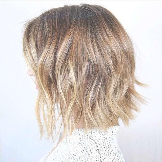 23 Cute Bob Haircuts & Styles For Thick Hair: Short, Shoulder In Cute Bob Hairstyles For Thick Hair (View 9 of 15)