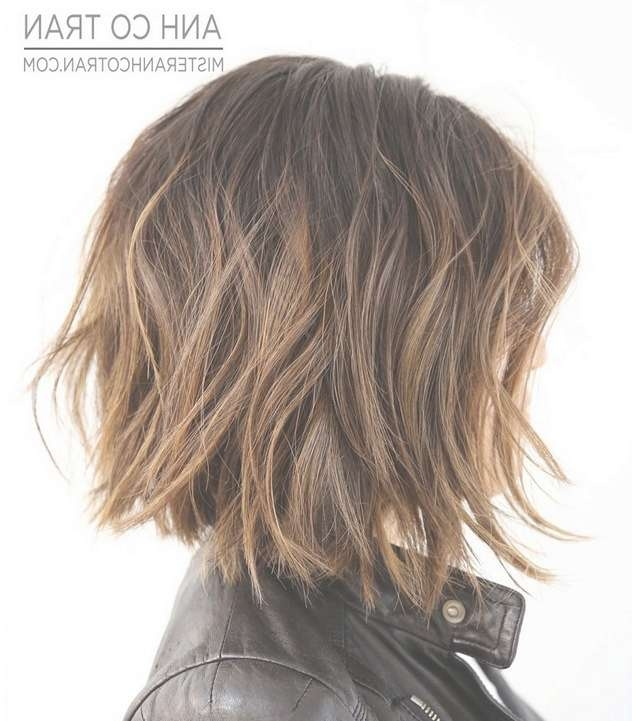 23 Cute Bob Haircuts & Styles For Thick Hair: Short, Shoulder Inside Medium Bob Haircuts For Thick Hair (View 7 of 15)
