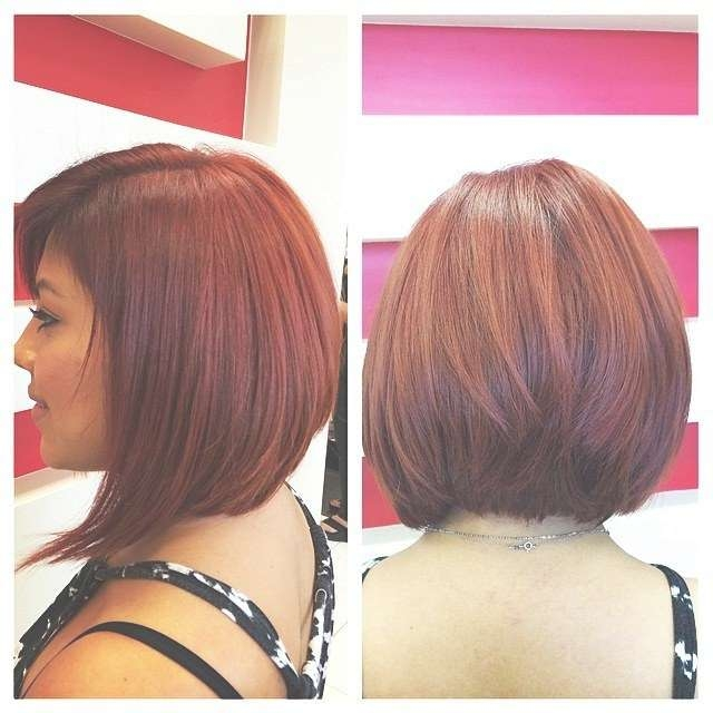 23 Cute Bob Haircuts & Styles For Thick Hair: Short, Shoulder Throughout Layered Bob Haircuts For Thick Hair (View 2 of 15)