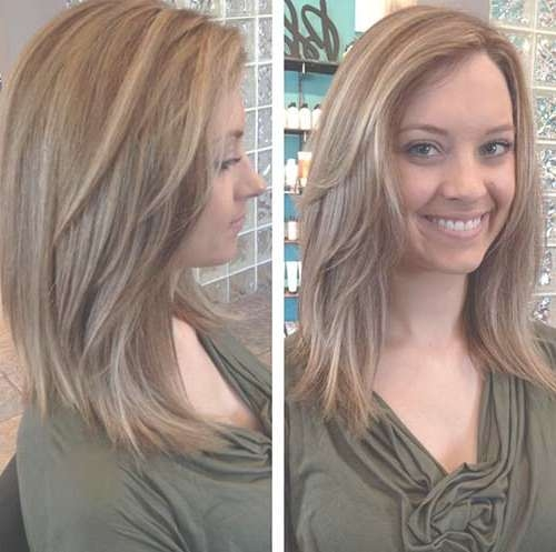 23 Nice Long Layered Bob Haircuts – Wodip With Long Layered Bob Haircuts (View 11 of 15)