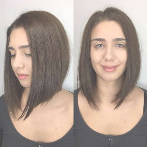 24 Best Long Bob Haircuts & Hairstyles (Updated For 2018) Intended For Bob Haircuts For Long Face (View 7 of 15)