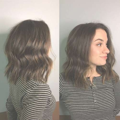 24 Best Long Bob Haircuts & Hairstyles (Updated For 2018) Intended For Long Bob Hairstyles (View 6 of 15)
