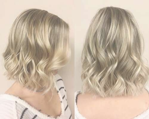 24 Best Long Bob Haircuts & Hairstyles (Updated For 2018) With Longer Bob Haircuts (View 9 of 15)