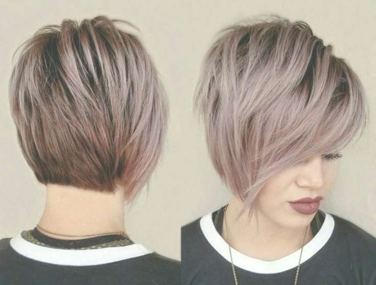 Image Gallery Of Funky Short Bob Hairstyles View 12 15 Photos