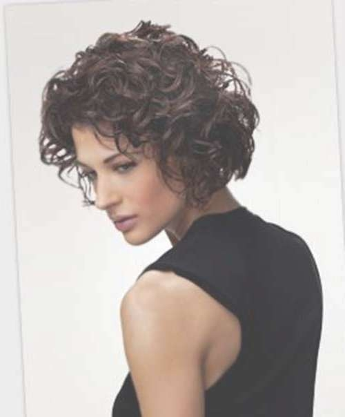 25 Best Curly Short Hairstyles 2014 2015 | Short Hairstyles 2016 Throughout Curly Short Bob Haircuts (View 11 of 15)