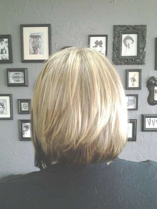 25 Best Layered Bob Pictures | Bob Hairstyles 2017 – Short For Back View Layered Bob Haircuts (View 13 of 15)