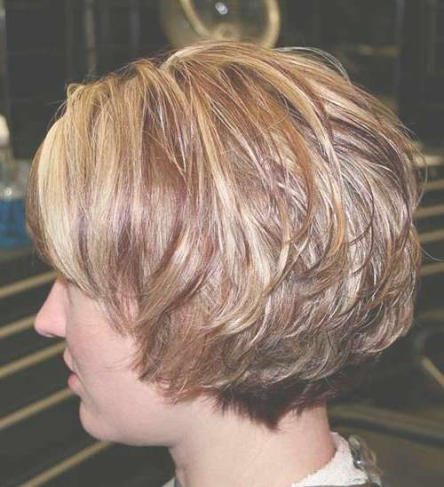 25 Best Layered Bob Pictures   Bob Hairstyles 2017 – Short Regarding Bob Hairstyles With Layers And Bangs (View 8 of 15)