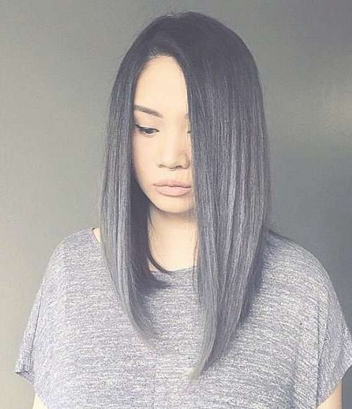 25 Best Long Bob Hair | Short Hairstyles 2016 – 2017 | Most With Regard To Gray Bob Haircuts (View 8 of 15)