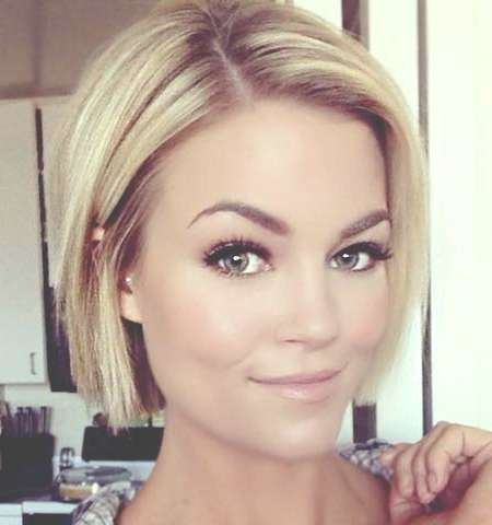 25 Blonde Bob Haircuts | Short Hairstyles 2016 – 2017 | Most In Best Blonde Bob Hairstyles (View 10 of 15)
