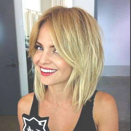 25 Blonde Bob Haircuts | Short Hairstyles 2016 – 2017 | Most In Blonde Layered Bob Hairstyles (View 6 of 15)