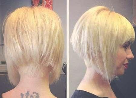 25 Blonde Bob Haircuts | Short Hairstyles 2016 – 2017 | Most Within Blonde Short Bob Haircuts (View 13 of 15)