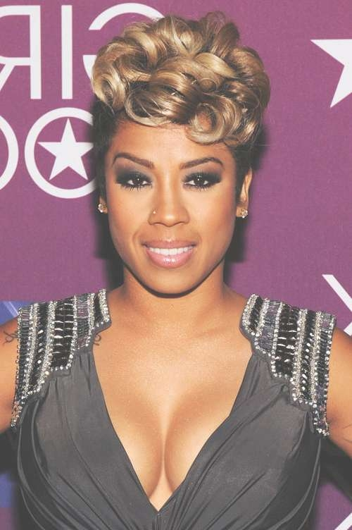 25 Fabulous Keyshia Cole Short Hairstyles – Cool & Trendy Short Throughout Keyshia Cole Bob Hairstyles (View 10 of 15)