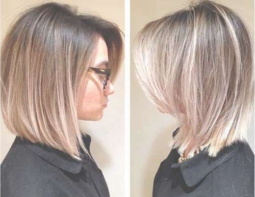 25 Medium Length Bob Haircuts | Bob Hairstyles 2017 – Short In Medium Length Bob Hairstyles (View 7 of 15)
