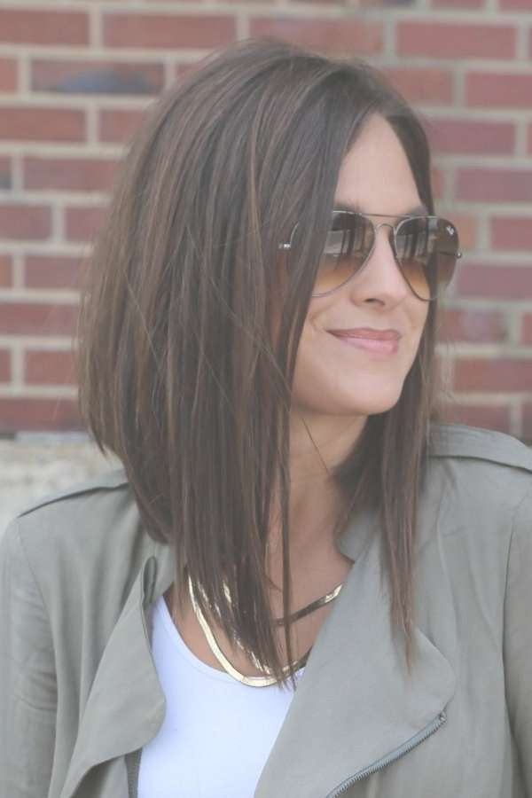 25 Most Hottest And Sexiest Long Bob Haircuts – Hottest Haircuts Pertaining To Long Length Bob Haircuts (View 3 of 15)
