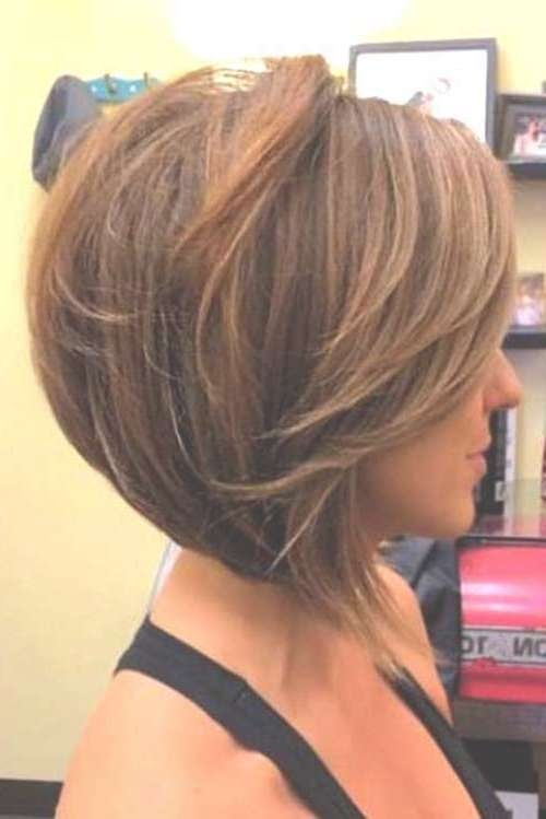 25 Pics Of Bob Hairstyles | Short Hairstyles 2016 – 2017 | Most In Cute Swing Bob Haircuts (View 5 of 15)