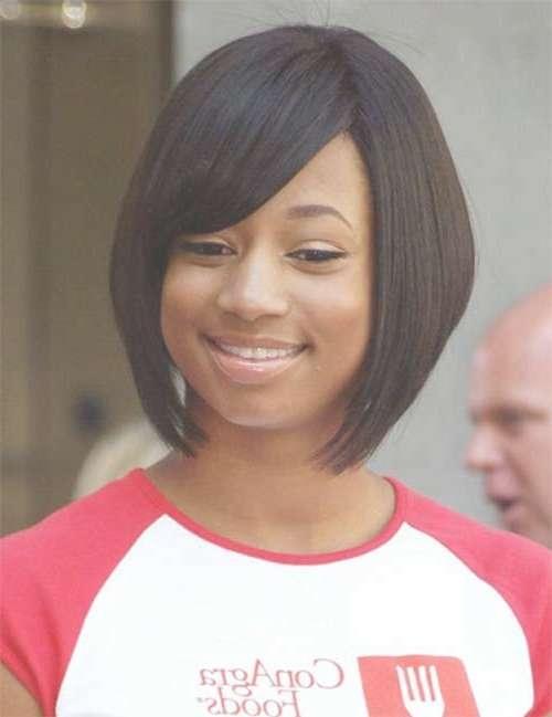 25 Short Bob Hairstyles For Black Women | Bob Hairstyles 2017 In Cute Bob Hairstyles For Black Women (View 9 of 15)