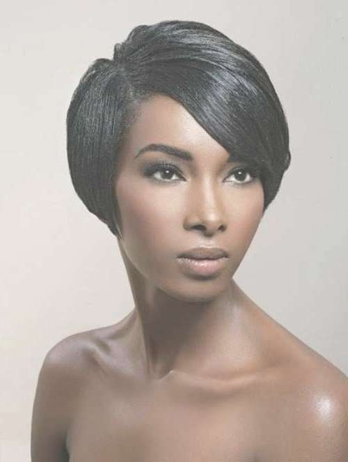 25 Short Bob Hairstyles For Black Women | Bob Hairstyles 2017 Within Afro Bob Haircuts (View 7 of 15)